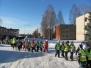 Matkapäev Jäljed lumel